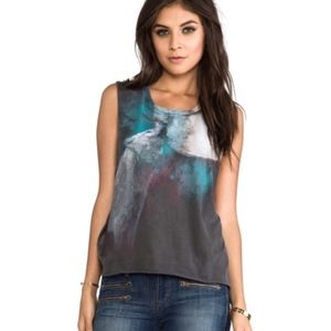 CHASER | howling wold muscle tee tank 0889